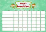 Personalised Christmas Elf Reward Chart
